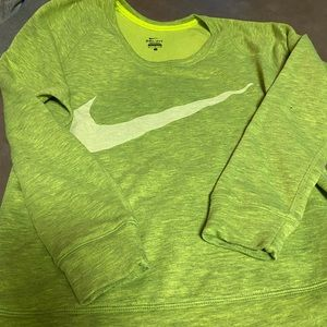 Nike Dry Fit- Yellow Sweater